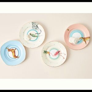 Anthropologie Yvonne Ellen Lilibet Side Plates
